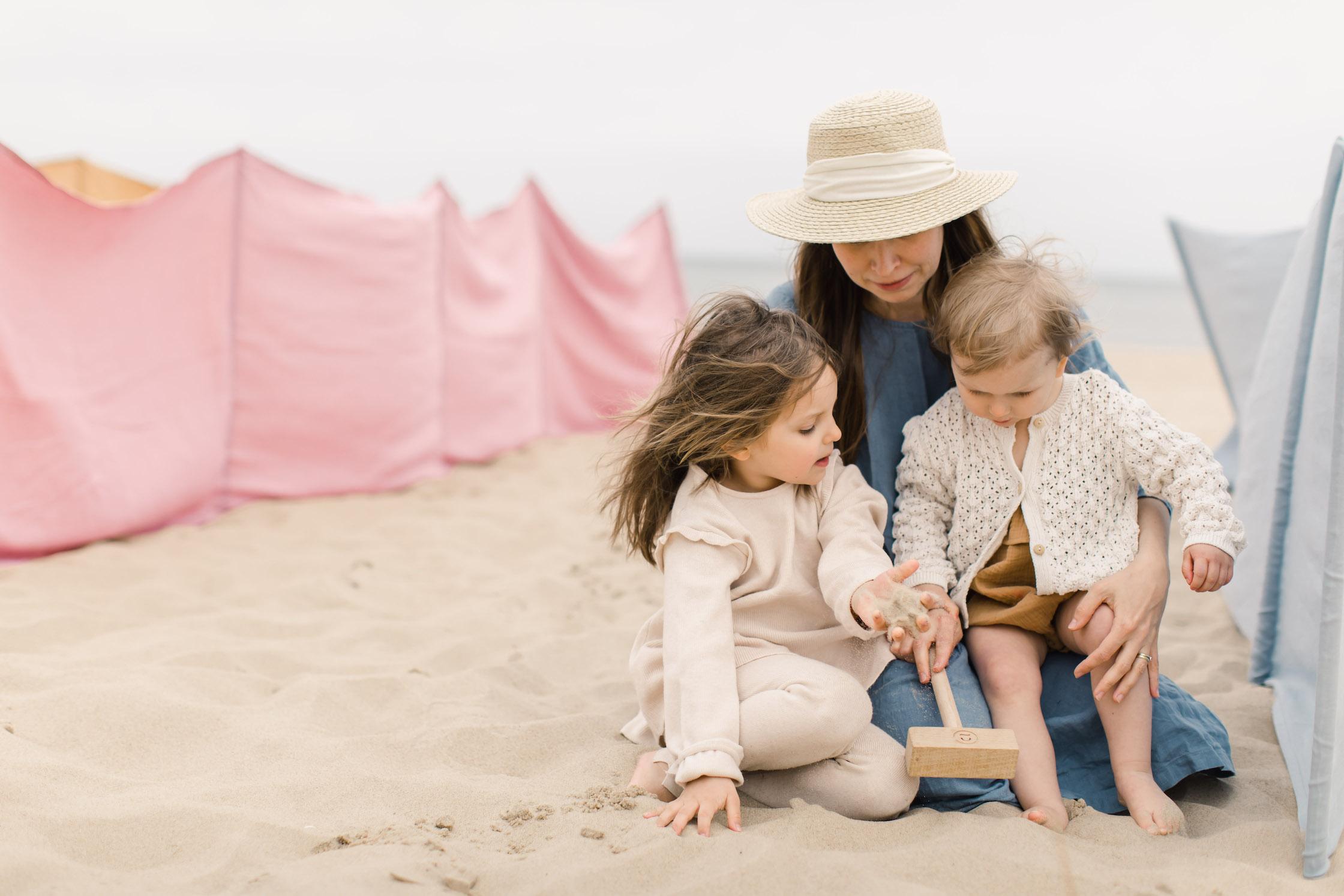 hiuma lniane akcesoria plażowe