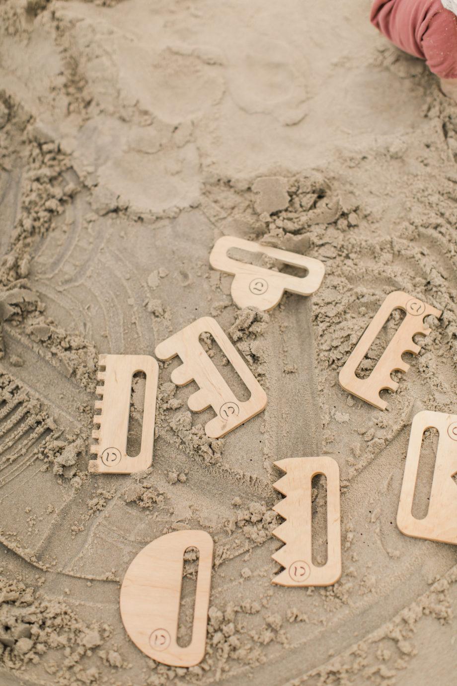polskie zabawki plażowe, drewniane zabawki plażowe