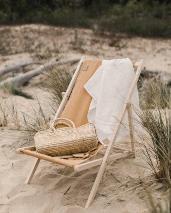 sunbed, beach sunbed, linen sunbed