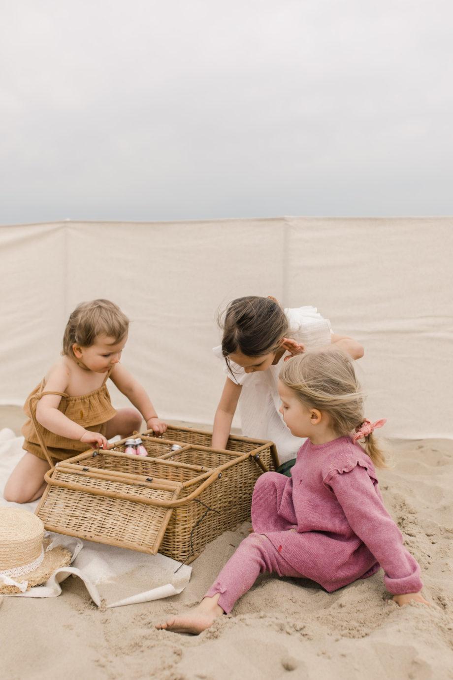 parawan plażowy, parawan lniany, elegancki parawan na plażę